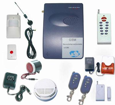 Комплект GSM-сигнализации для совместной работы с камерами слежения