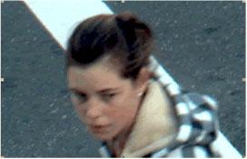 лицо человека, полученное с IP камеры