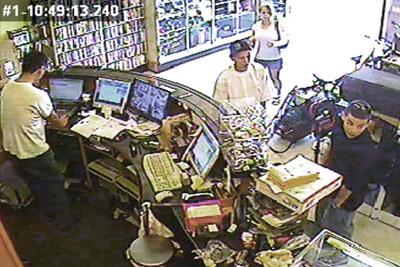 Камеры видеонаблюдения в объекте розничной торговли
