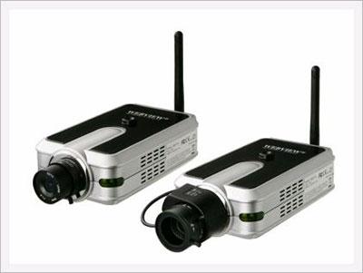 Беспроводная камера видеонаблюдения в корпусе