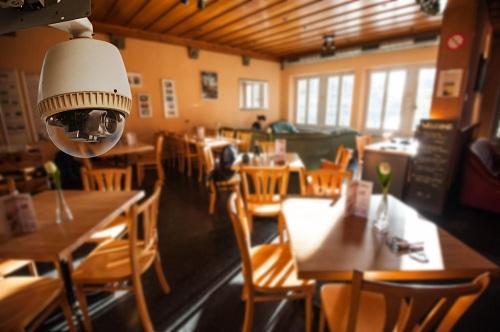 видеонаблюдение в ресторане, кафе, барах